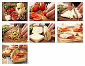 How to prepare ciabatta rolls with Serrano ham