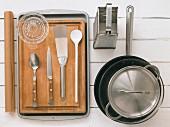 Kitchen utensils for fritters