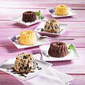 Assorted mini Bundt cakes