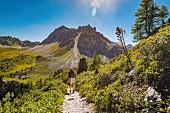 Hiking in Valais, Switzerland