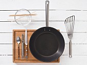 Kitchen utensils for making kebabs