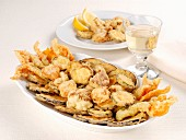 Vegetable fritto misto