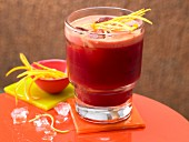 Carrot and beetroot drink