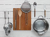 Kitchen utensils for preparing compote