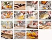 Orangen-Vanille-Creme zubereiten