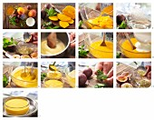 Mango-Maracuja-Creme zubereiten