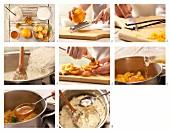 Vanille-Milchreis mit Aprikosen zubereiten