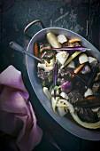 Pot au feu (Eintopf mit Rindfleisch und Gemüse, Frankreich)