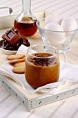 Hot chocolate zabaglione