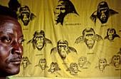 gorilla paintings,Kahuzi Biega Congo