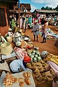 Market scene,Central Madagascar