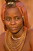 Himba woman,Puros Conservancy,Namibia