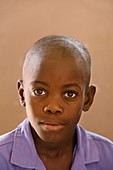 Student at school,Puros Village,Namibia