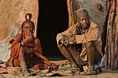Himba people,Damaraland,Namibia