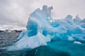 Melting iceberg,East Greenland