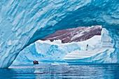 Icebergs,Scoresby Sound,East Greenland