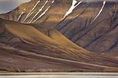 Coastline near Longyearbyen