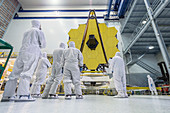 James Webb Space Telescope assembly