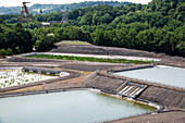 Coal mine water treatment plant