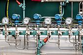 Hydrogen production pressure gauges