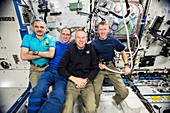 ISS Expedition 46 crew members