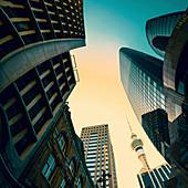 Skyscrapers,Auckland,New Zealand