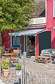 Schillings Hofladen in Schaprode auf Rügen, Ostsee, Deutschland