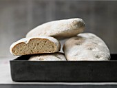 Ciabatta with yeast and olive oil