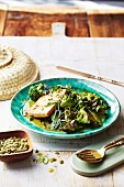 Detox green vegetable curry