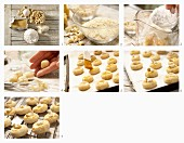 How to make Bethmännchen (marzipan cookies) with cashews