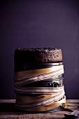 Spelt and amaretto fruit cake