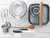 Kitchen utensils for the preparation of brownies