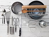 Kitchen utensils for baking cakes