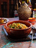 Pork tagine with sweet potato (North Africa)
