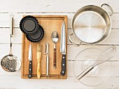 Kitchen utensils for making tartlets