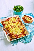Vegetable and Bean Enchiladas