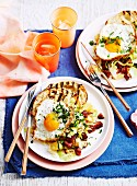 Chorizo Hash with Fried Eggs