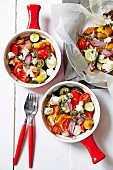Roast vegetable ratatouille