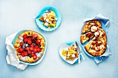 Three French Galettes