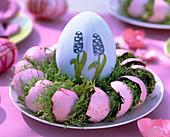 Gefärbte Eierschalen