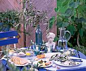 Tischdeko griechisch