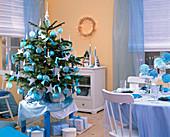 Weihnachtsbaum aus Abies nordmanniana (Nordmanntanne)