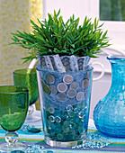 Vase mit Glaslinsen: 2/2