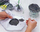 Lavendelsäckchen selbermachen: 2/3
