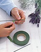 Lavendel / Meerlavendelsträuße als Tischdeko: 2/5