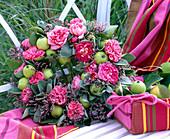 Rosen - Apfel - Salbei - Kranz: 3/3