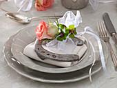 Silvester - Tischdeko