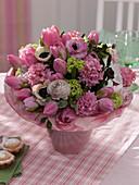 Tulipa (Tulpen), Ranunculus (Ranunkeln), Hyacinthus (Hyazinthen)
