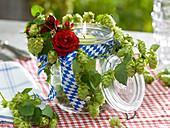 Floristik mit Hopfen