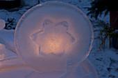 Eis - Kunst : Deko - Objekte aus Eis